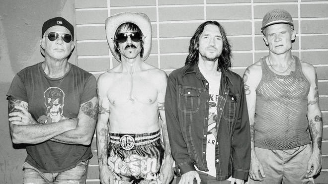 Red Hot Chili Peppers 2021: Chad Smith, Anthony Kiedis, John Frusciante and Flea