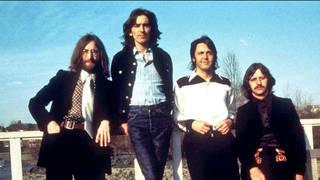 The Beatles in 1969: John Lennon, George Harrison, Paul McCartney and Ringo Starr