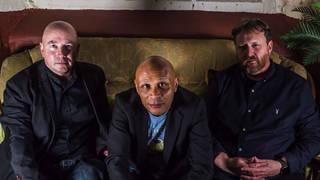 The Boo Radleys in 2021: Sice Rowbottom, Rob Cieka and Tim Brown