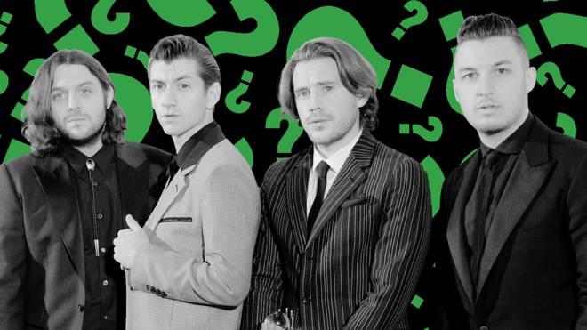 Arctic Monkeys: Nick O'Malley, Alex Turner, Jamie Cook, Matt Helders