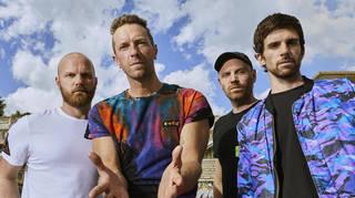 Coldplay 2021: Will Champion, Chris Martin, Jonny Buckland and Guy Berryman.