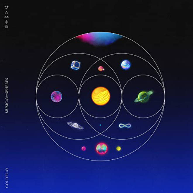 Coldplay's Music Of The Sphere's album is released on 15 October