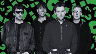 Blur in 2015: Graham Coxon, Alex James, Damon Albarn and Dave Rowntree