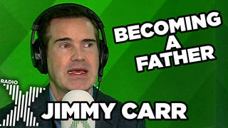 Jimmy Carr talks about becoming a father late in life