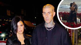 Kourtney Kardashian and Blink 182's Travis Barker are engaged