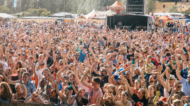 Standon Calling 2018 crowd image