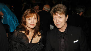 Susan Sarandon and Davdi Bowie in 2006