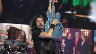 Dave Grohl of Foo Fighters performs onstage during the 2021 MTV Video Music Awards