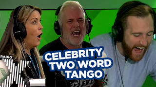 This week's Celebrity Two Word Tango was the closest ever