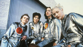 Smashing Pumpkins classic line-up consisted of Billy Corgan, James Iha, Jimmy Chamberlin and Darcy Wretzky