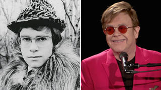 Elton John then and now: in January 1968 and May 2021