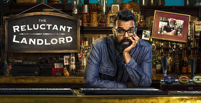 Romesh Ranganathan in The Reluctant Landlord press shot