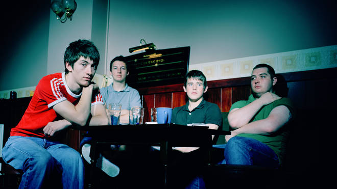 Arctic Monkeys in a pub, 2006