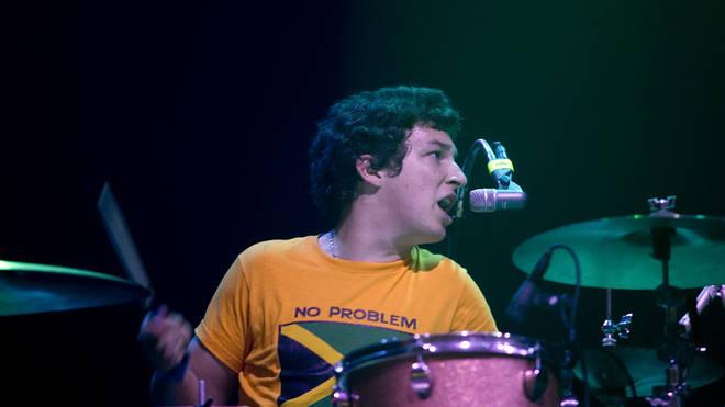 Matt Helders of Arctic Monkeys, 2006