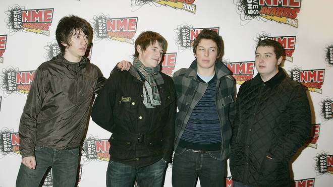 Arctic Monkeys at the NME Awards 2006