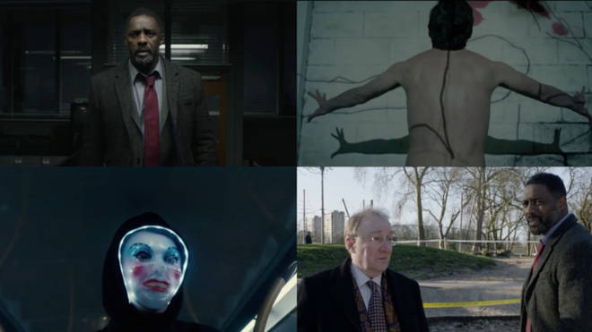 Stills from the Luther series 5 teaser trailer