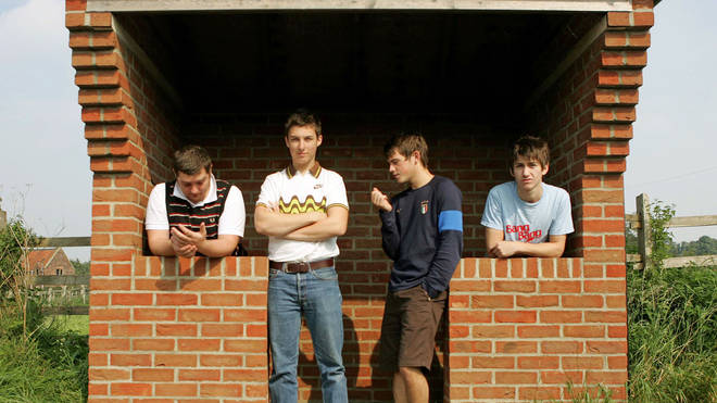 Arctic Monkeys in September 2005