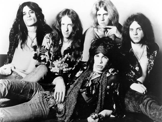 Aerosmith in 1974