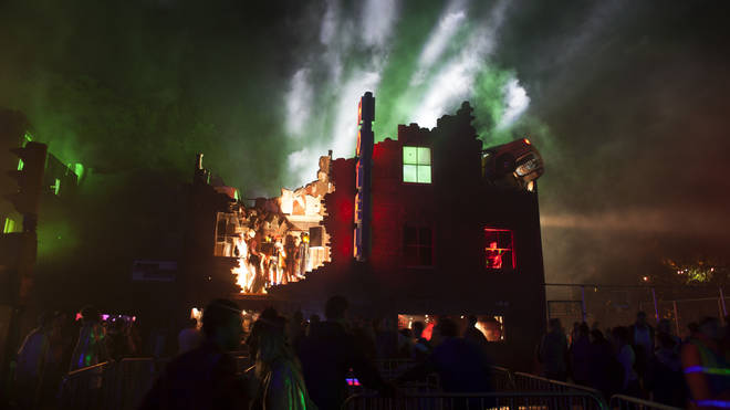 Glastonbury's Block9 festival in 2014