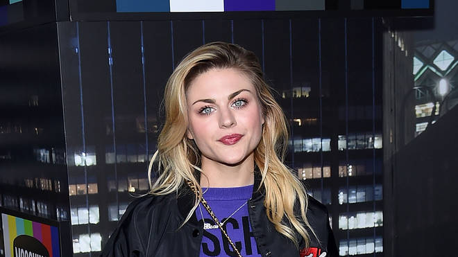Frances Bean attends Moschino x H&M fashion show in New York on 24 October 2018
