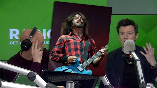 Rick Astley recalls performing with Foo Fighters