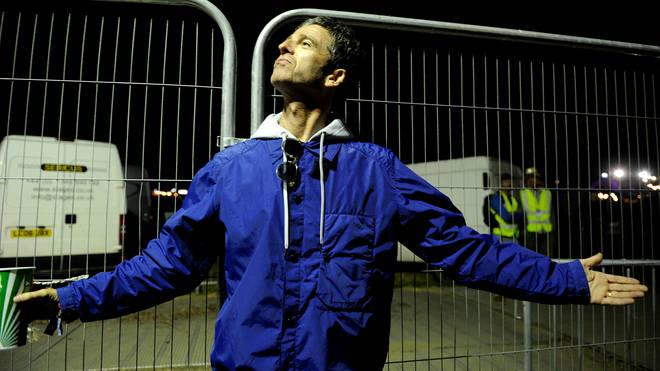 Noel Gallagher at Glastonbury 2017