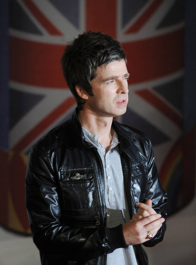 Noel Gallagher at the BRIT Awards