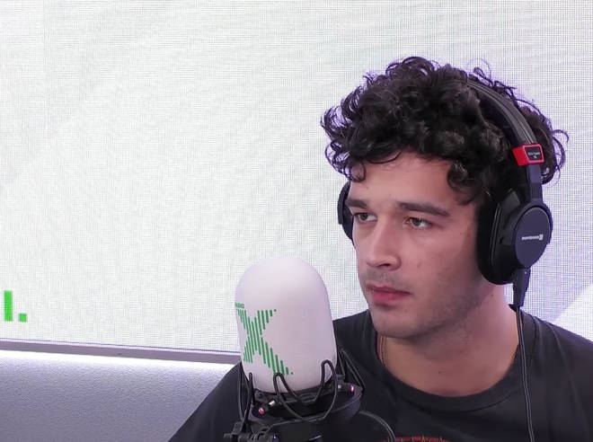 The 1975's Matty Healy speaks to John Kennedy in the Radio X studio