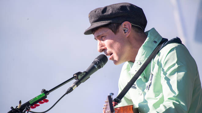 Gerry Cinnamon on stage at TRNSMT Festival 2018