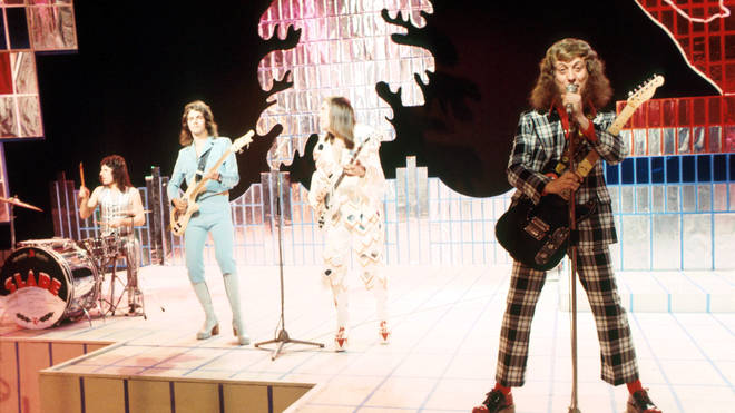 Slade on Christmas Top Of The Pops 1973