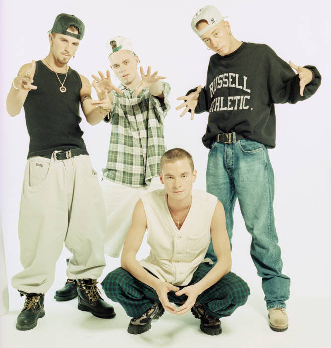 East 17 in their 90s heyday