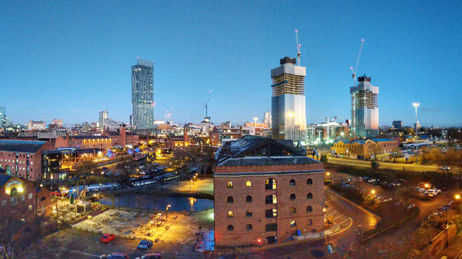 Image of the Manchester cityscape