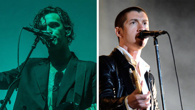 The 1975's Matty Healy and Arctic Monkeys' Alex Turner
