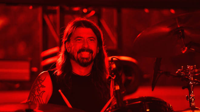 Dave Grohl performs onstage during 2018 LACMA Art + Film Gala honoring Catherine Opie and Guillermo del Toro presented