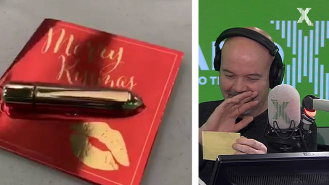 Dom gets a new vibrating 'alarm clock' on The Chris Moyles Show