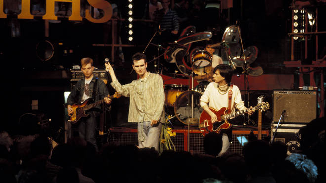 The Smiths performing live on The Tube, 1984