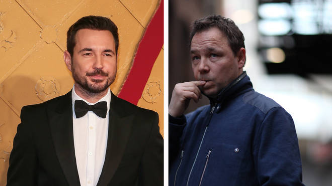 Line of Duty actors Martin Compston and Stephen Graham