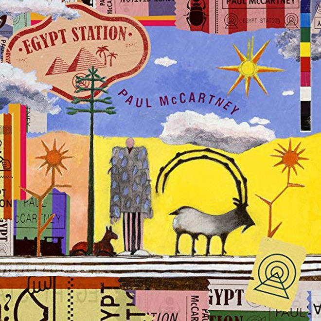 Paul McCartney - Egypt Station cover