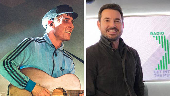 Gerry Cinnamon and Line of Duty actor Martin Compston