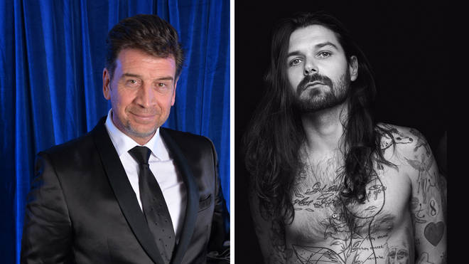 I'm A Celeb's Nick Knowles and Biffy Clyro frontman Simon Neil