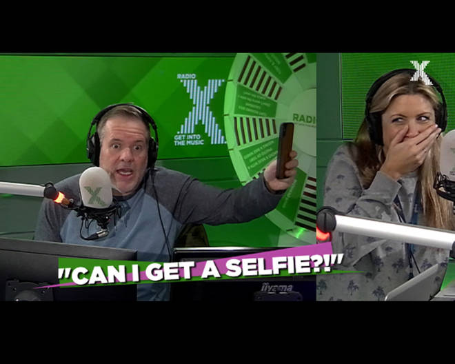 Chris Moyles tells his Christmas party selfie story
