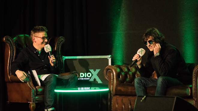 Radio X's John Kennedy in conversation with Richard Ashcroft at the Hammersmith Club