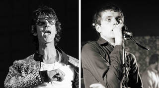 Richard Ashcroft and the late Joy Division frontman Ian Curtis