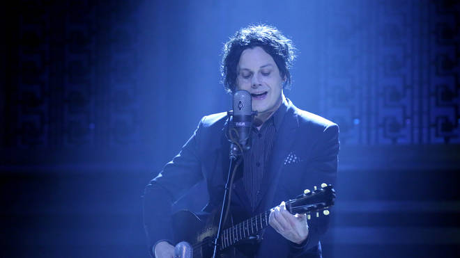 Jack White on stage