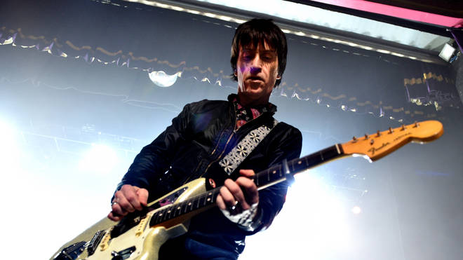 Johnny Marr live onstage in Manchester, 2018