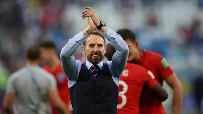Gareth Southgate at the World Cup, 2018