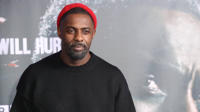 Idris Elba at the Luther launch