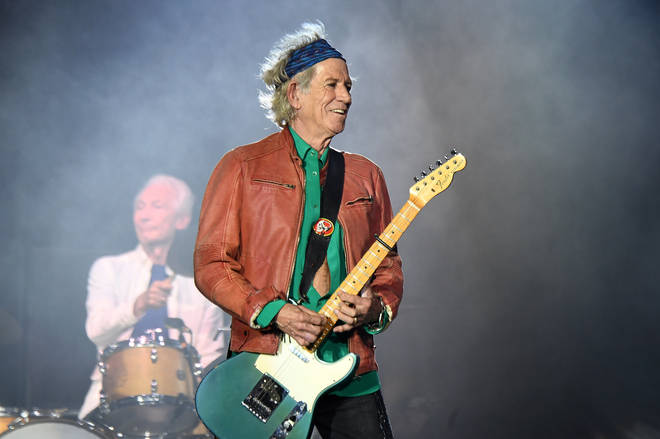 Keith Richards of The Rolling Stones, 2018