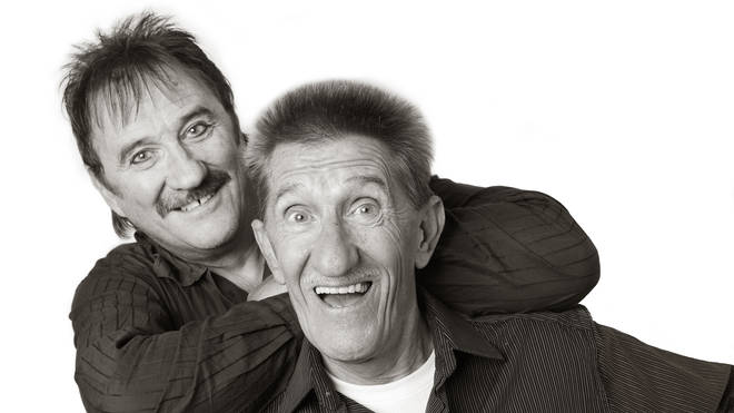 The Chuckle Brothers (Paul, left and Barry)