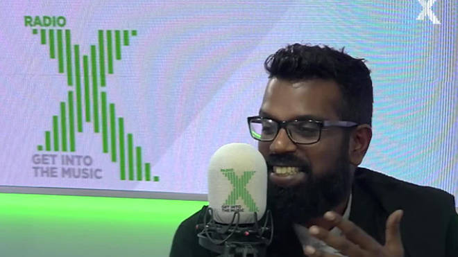 Romesh Ranganathan talks about being held hostage in a women's toilet